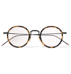 Thom Browne - Round-Frame Tortoiseshell Acetate Optical Glasses