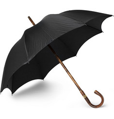 Kingsman + Swaine Adeney Brigg Chestnut Wood-Handle Umbrella