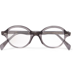 Cutler and Gross - Round-Frame Acetate Optical Glasses