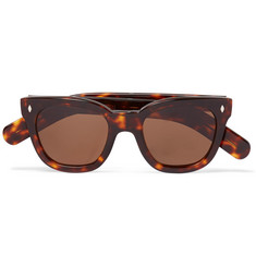 Cutler and Gross - Square-Frame Tortoiseshell Acetate Sunglasses