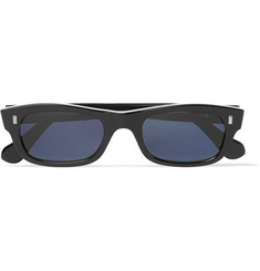 Cutler and Gross - Rectangle-Frame Acetate Sunglasses