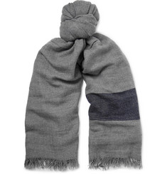 Begg & Co Rona Striped Cashmere Scarf