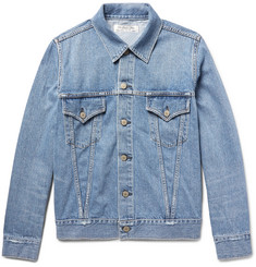 Remi Relief - Slim-Fit Distressed Denim Jacket