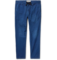 Remi Relief - Slim-Fit Cotton-Ripstop Drawstring Trousers