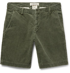 Remi Relief - Slim-Fit Cotton-Blend Corduroy Shorts