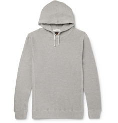 Beams Plus Waffle-Knit Cotton-Jersey Hoodie