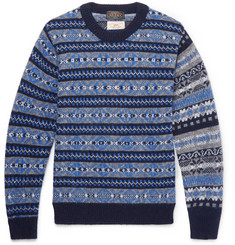 Beams Plus Gim Fair Isle Wool Sweater