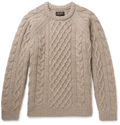 Beams Plus - Cable-Knit Wool Sweater