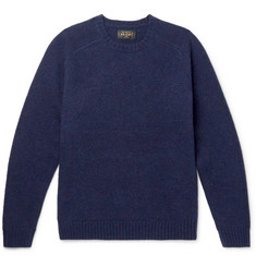Beams Plus Mélange Wool Sweater