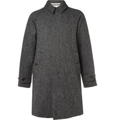 Beams Plus Harris Tweed Wool Coat