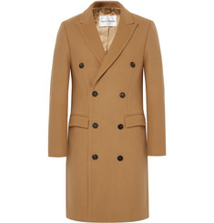 SALLE PRIVÉE Ives Double-Breasted Wool-Blend Overcoat