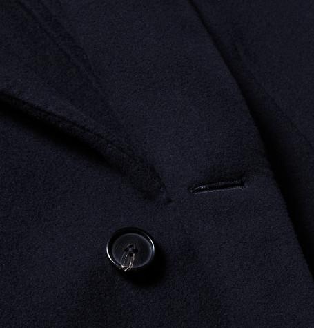 Gilles Slim Fit Wool Blend Overcoat by Salle PrivÉe