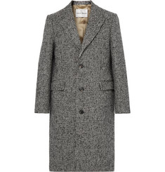 SALLE PRIVÉE - Adrian Houndstooth Wool-Blend Overcoat