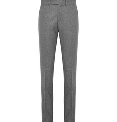 SALLE PRIVÉE - Grey Rocco Slim-Fit Mélange Wool-Flannel Suit Trousers