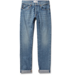 SALLE PRIVÉE - Lewitt Slim-Fit Tapered Selvedge Denim Jeans