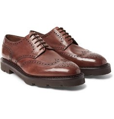 John Lobb - Hayle Leather Wingtip Brogues