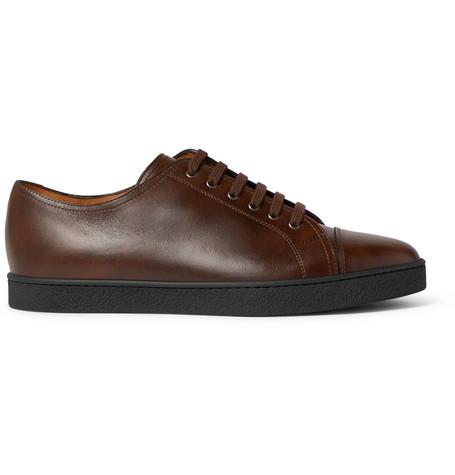 John Lobb Classic Sneakers In Dark Brown