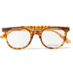 Bottega Veneta - Square-Frame Acetate Optical Glasses