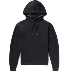 Acne Studios Yala Fleece-Back Cotton-Jersey Hoodie