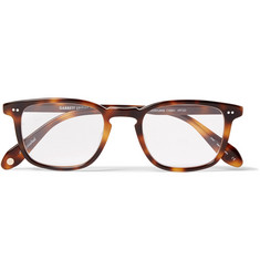 Garrett Leight California Optical Howland D-Frame Tortoiseshell Acetate Optical Glasses