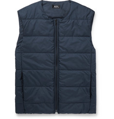 A.P.C. Steven Quilted Shell Gilet