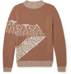 A.P.C. Jacquard-Knit Wool Sweater
