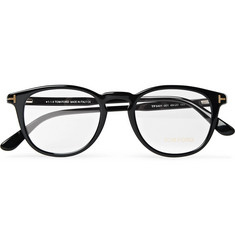 TOM FORD - Round-Frame Acetate Optical Glasses