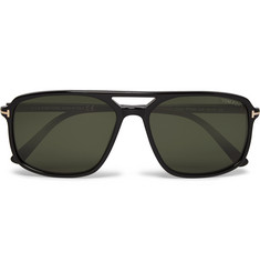 TOM FORD Terry Aviator-Style Acetate Sunglasses