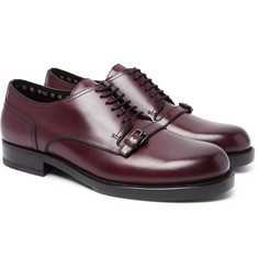 Bottega Veneta - Buckle-Detailed Leather Derby Shoes