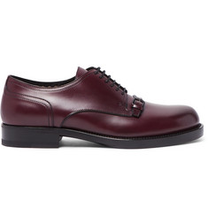 Bottega Veneta Buckle-Detailed Leather Derby Shoes