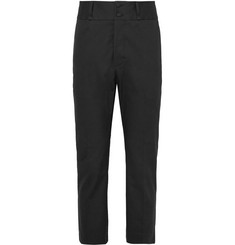 Bottega Veneta Slim-Fit Stretch-Cotton Twill Trousers