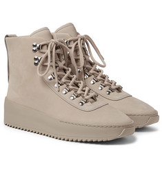 Fear of God - Nubuck High-Top Sneakers