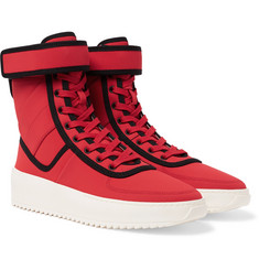 Fear of God - Military Nylon High-Top Sneakers