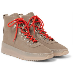 Fear of God - Hiking Nubuck High-Top Sneakers