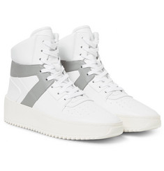 Fear of God - Basketball Panelled Leather High-Top Sneakers