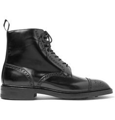 George Cleverley Toby Leather Brogue Boots