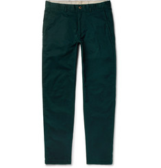 Club Monaco Connor Slim-Fit Stretch-Cotton Twill Chinos