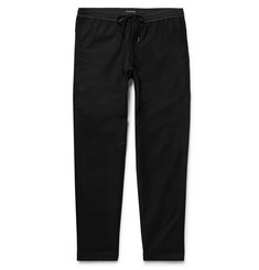 Club Monaco Slim-Fit Stretch Cotton-Blend Drawstring Trousers