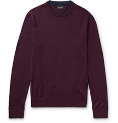 Club Monaco Slim-Fit Layered Merino Wool Sweater