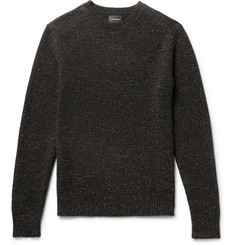 Club Monaco Jaxon Slim-Fit Donegal Wool-Blend Sweater