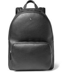 Montblanc - Meisterstück Full-Grain Leather Backpack