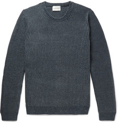 Solid Homme Chenille Sweater