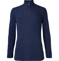 Iffley Road Thorpe Merino Wool Half-Zip Top