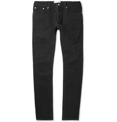 Sandro Slim-Fit Distressed Stretch-Denim Jeans