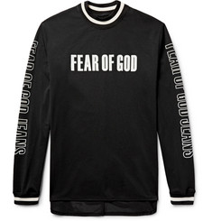 Fear of God Oversized Printed Mesh T-Shirt