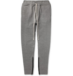 Fear of God - Slim-Fit Tapered Loopback Cotton-Blend Jersey Sweatpants