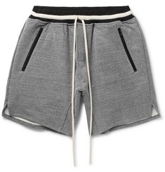 Fear of God Loopback Cotton-Blend Jersey Drawstring Shorts