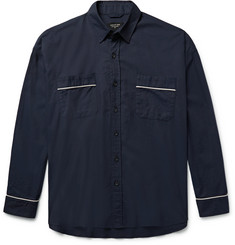 Fear of God Oversized Contrast-Piped Cotton Shirt