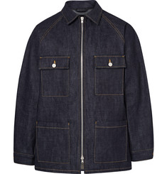 Fear of God Raw Selvedge Denim Zip-Up Jacket