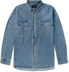 Fear of God Oversized Washed-Denim Shirt